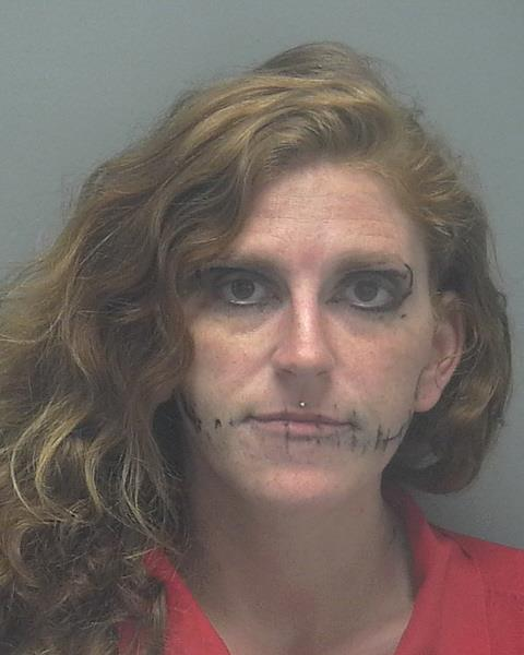 ARRESTED: Jeannine Marrissa Coons, W/F, DOB: 08/19/1988, 14002 Barcelona Ave, Fort Myers - CHARGES: DUI, Possession of Cannabis Under 20 grams, and Possession of Drug Paraphernalia