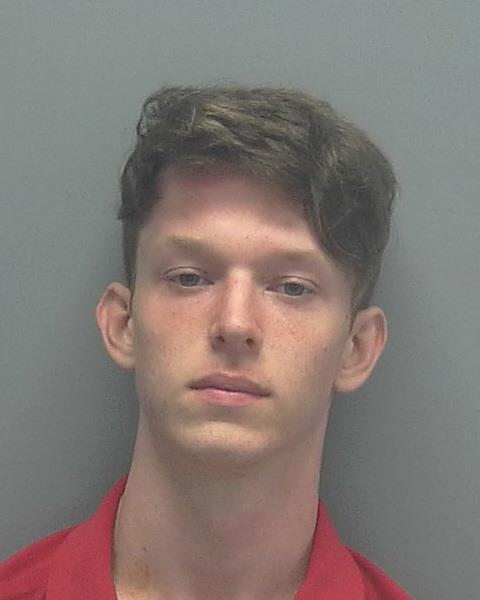 ARRESTED: Shane Matthew Calden, W/M, DOB: 10/13/2000, 106 SW 37th Avenue - CHARGES: Robbery with a Firearm and Petit Theft