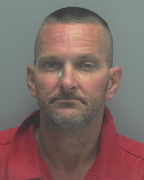 ARRESTED: Christopher David Viens, W/M, DOB: 02/015/1975, 3421 Palm Beach Blvd, Fort Myers - CHARGES: Possession of a Firearm by a Convicted Felon, Carrying a Concealed Firearm, Loitering and Prowling, Resisting Arrest Without Violence, Armed Burglary of a Dwelling, and Grand Theft