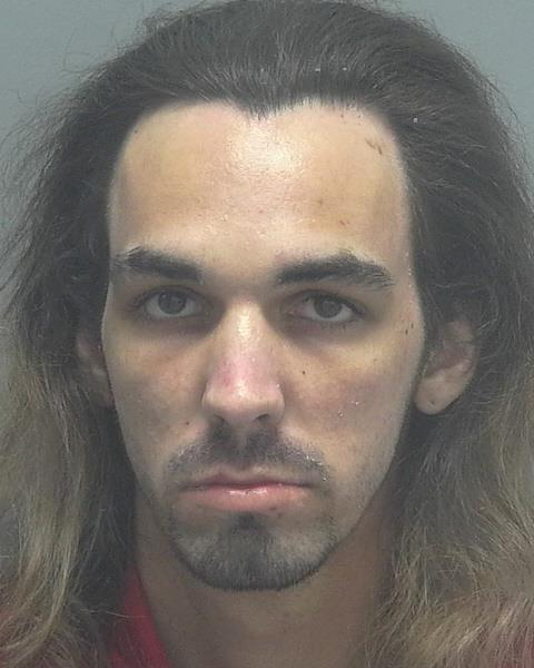 ARRESTED: Jessie James Noble, W/M, DOB: 03/25/1993,132 Gaslight Ave, North Fort Myers - CHARGES: DUI, Trafficking in Fentanyl, Possession of a Firearm by Convicted Felon, and 4-counts of Possession of Drug Paraphernalia