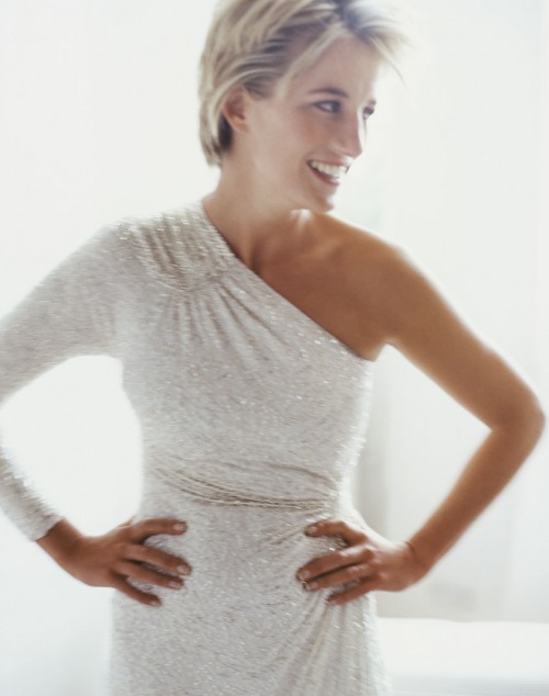 Princess Diana, photographed by Mario Testino