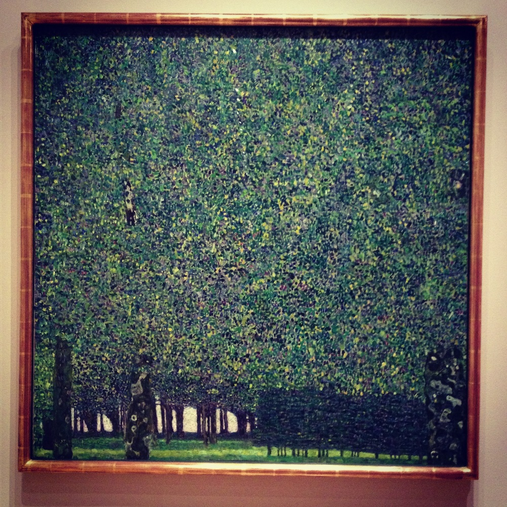 The Park, Gustav Klimt (1910 or earlier)