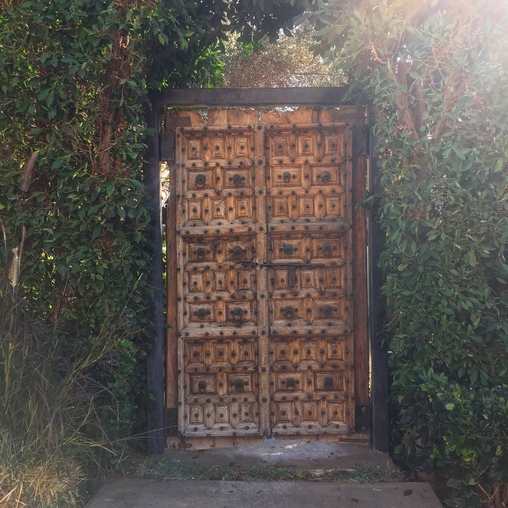 A door in West Hollywood