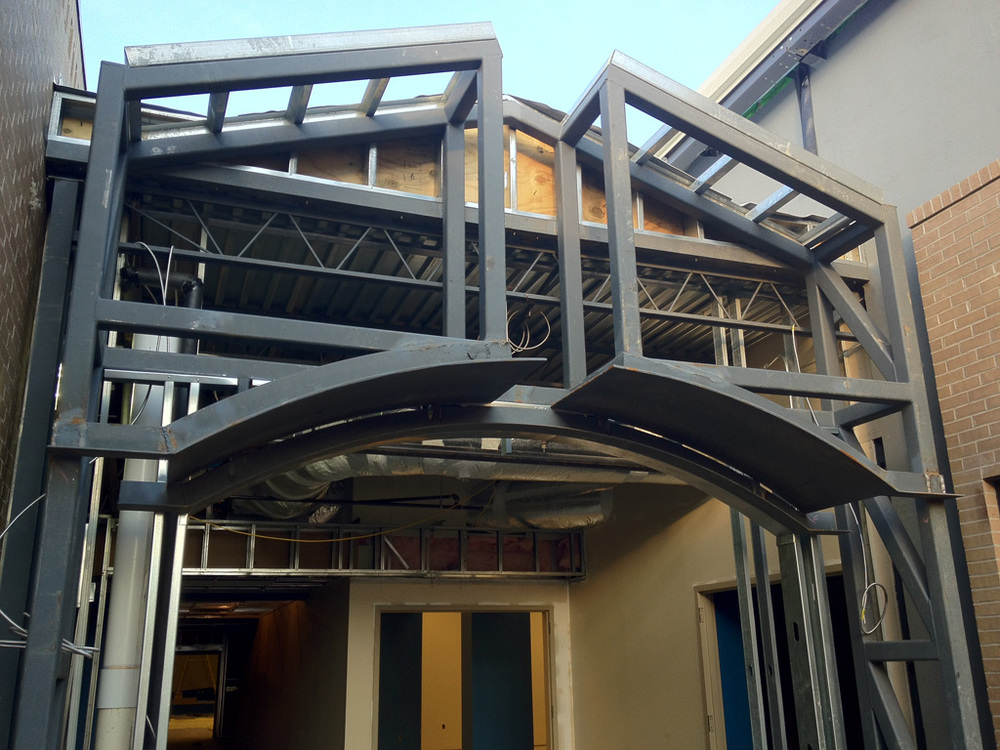 Entry Steel   |  Student Center, Riverchase United Methodist Church