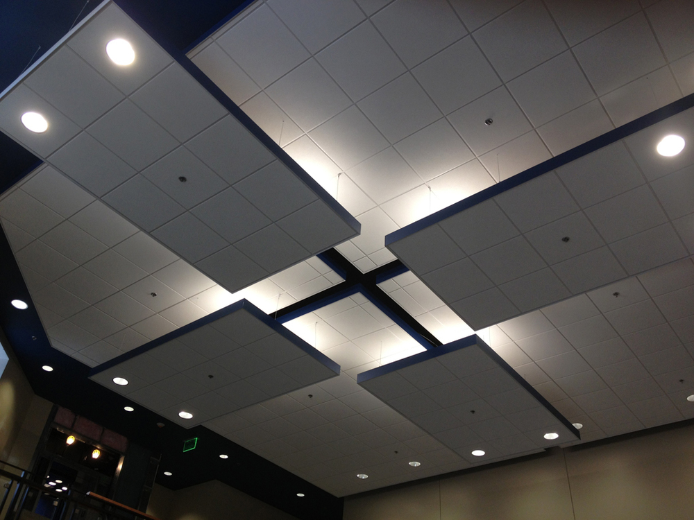 Lobby Feature Ceiling   |  Riverchase United Methodist Church