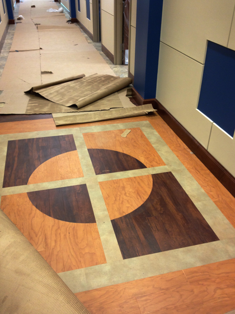 Accent Floor Pattern   |  Riverchase United Methodist Church
