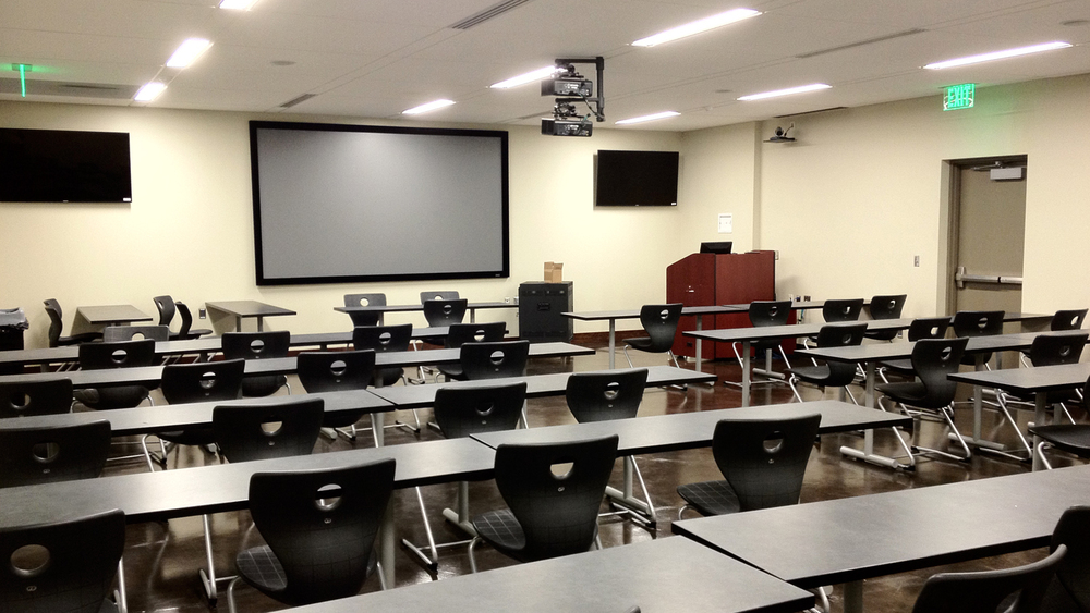 Advanced Visualization Classroom (3-D Projection/Simulation)