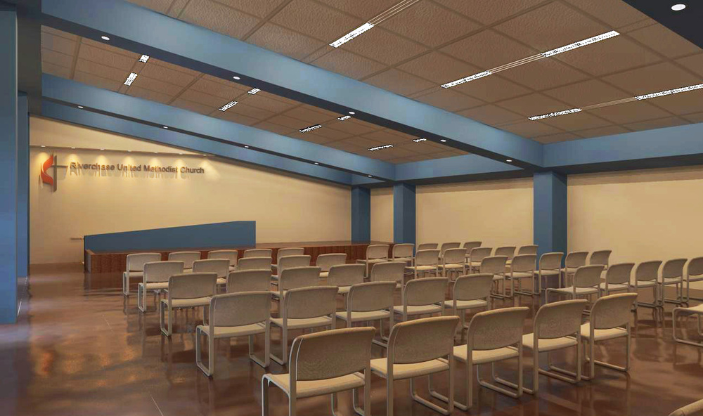 Student Worship Space (Rendering)
