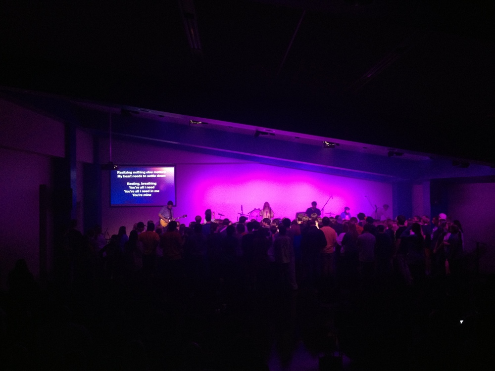 Student Worship Space   |  Riverchase United Methodist Church, Hoover, AL