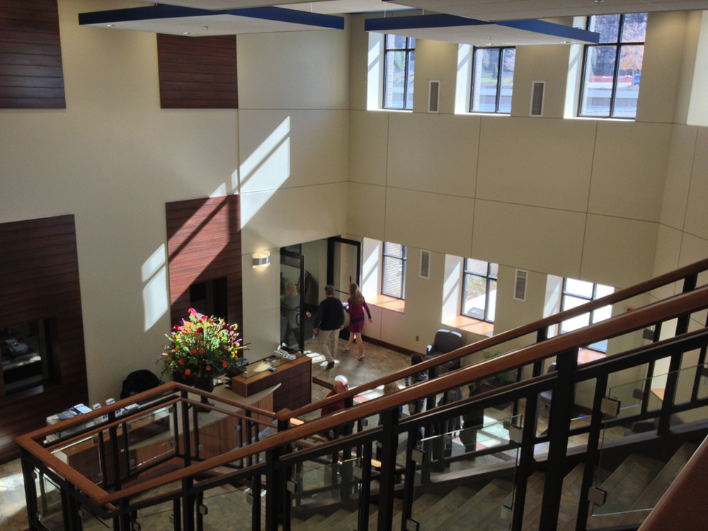Reception and Grand Stair