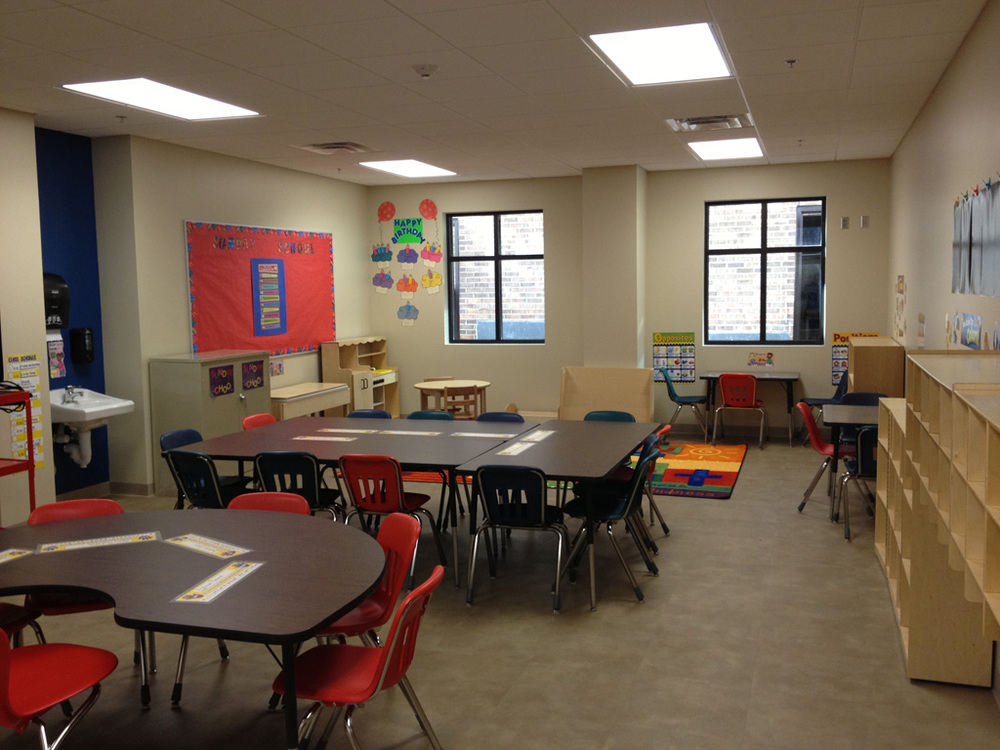 Dayschool and Sunday School Classroom
