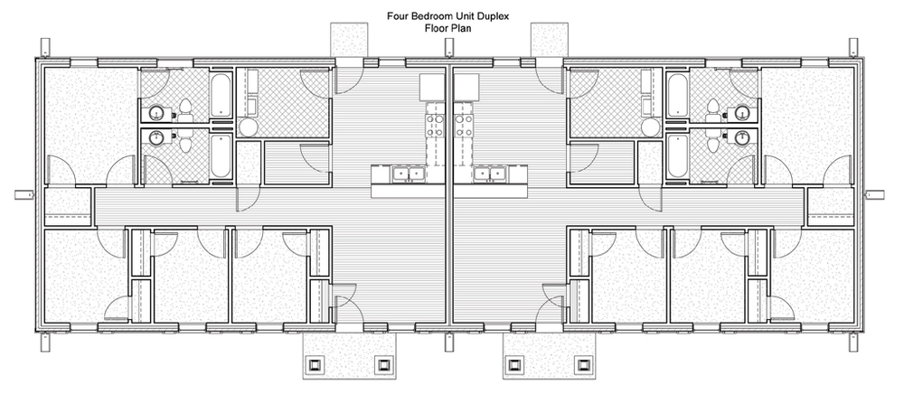 Casa bonita aho architects llc for Aho construction floor plans