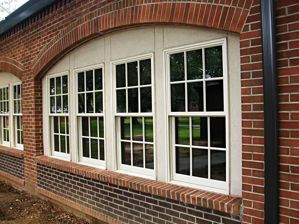 Detail Windows at Porch In-Fill Enclosure