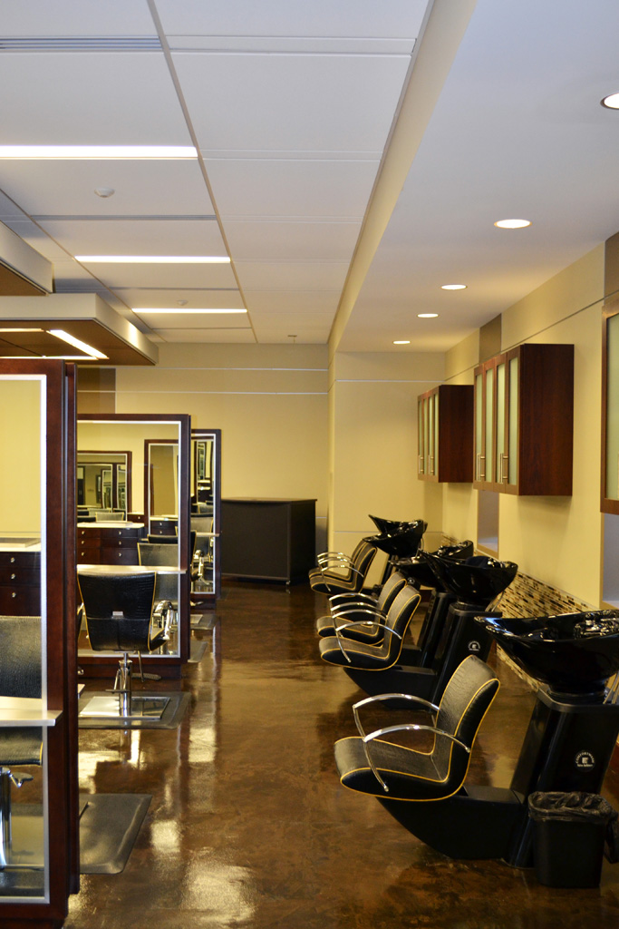 Cosmetology Lab - Shampoo Stations
