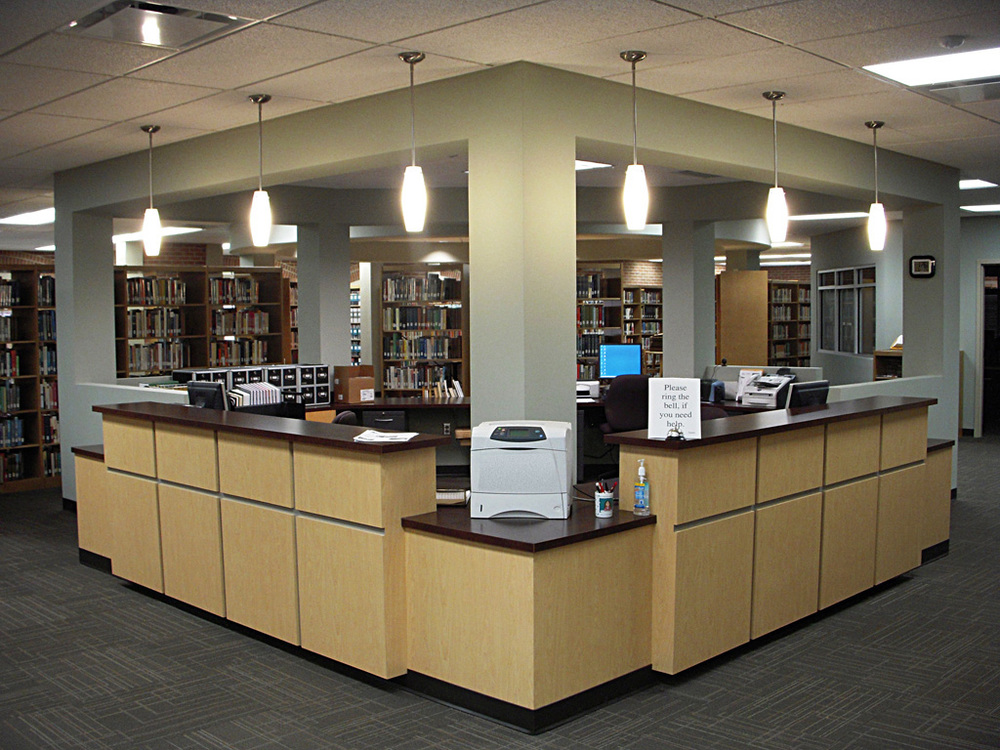 New Circulation Desk