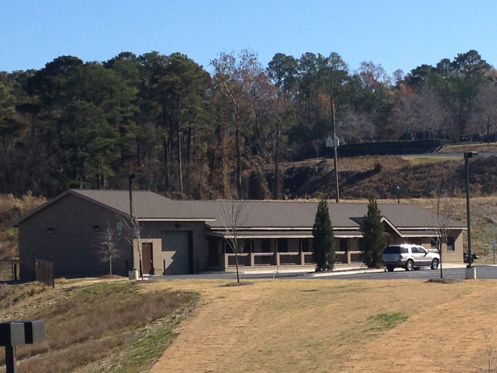 View Across Campus  |  New Missions Building, Riverchase United Methodist Church