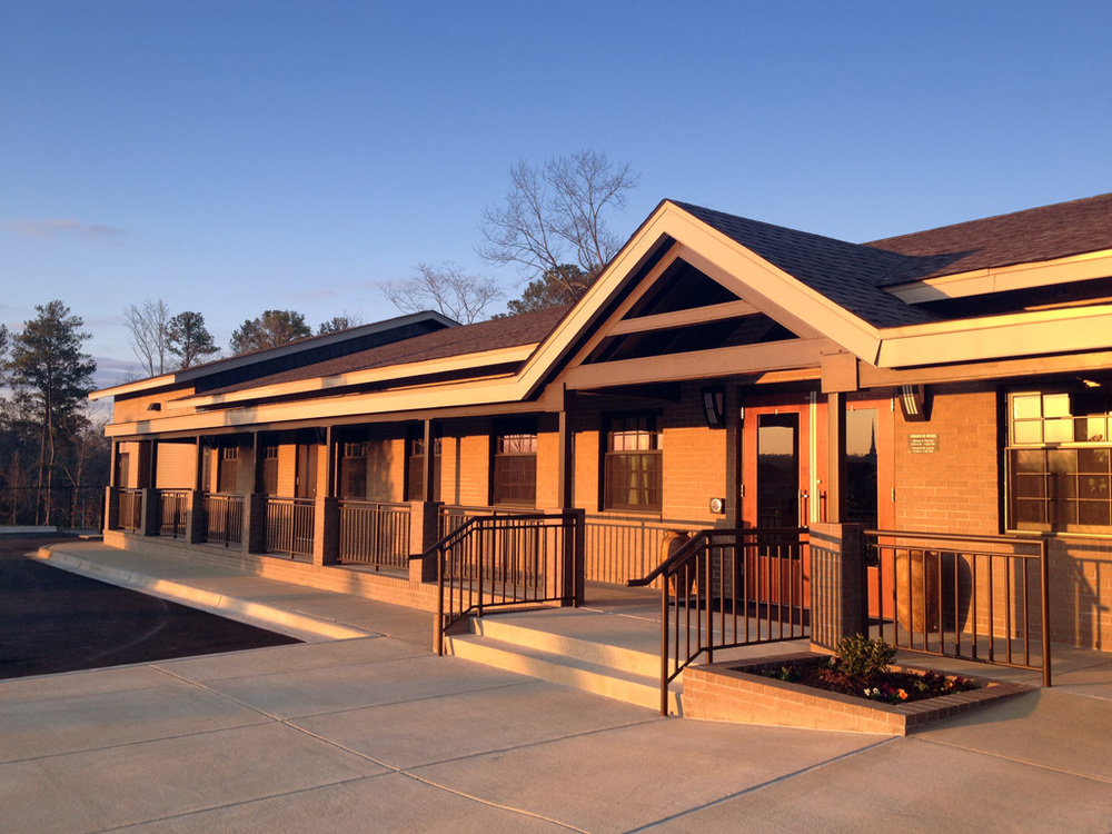 Front Entry  |  New Missions Building, Riverchase United Methodist Church