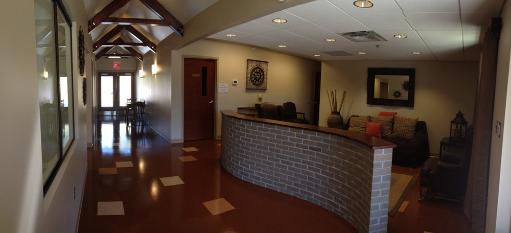 Reception Area  |  New Missions Building, Riverchase United Methodist Church