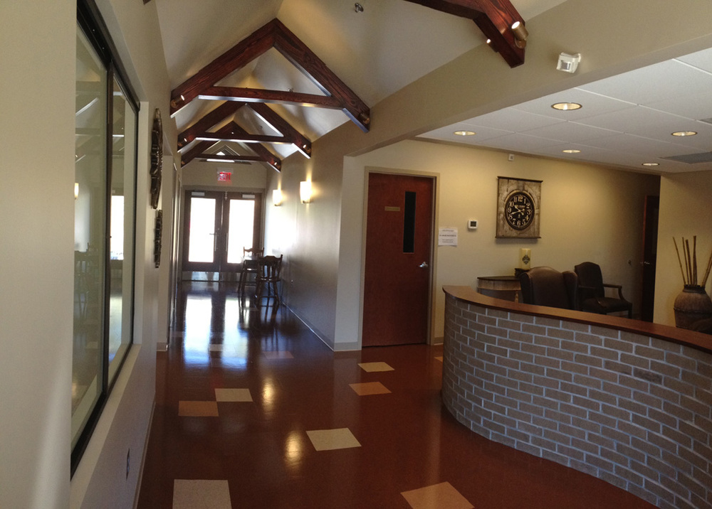 Main Corridor  |  New Missions Building, Riverchase United Methodist Church