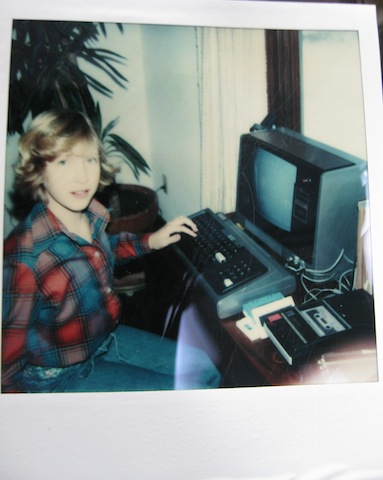 Me with Radio Shack's TRS-80