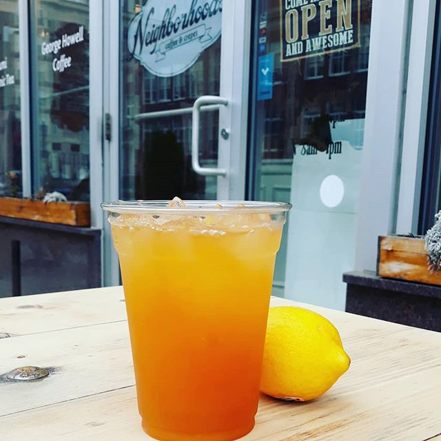 Back in time for opening day! Fenway Breeze is here...iced tea, lemonade and passionfruit, Go Red Sox!