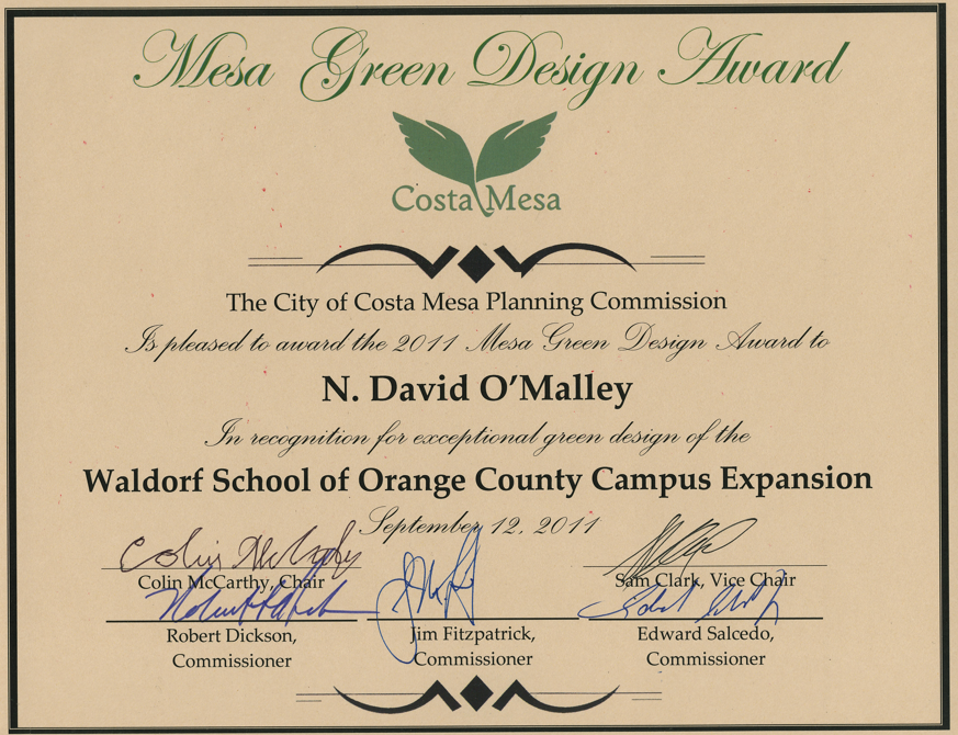 Cosat Mesa Award.png