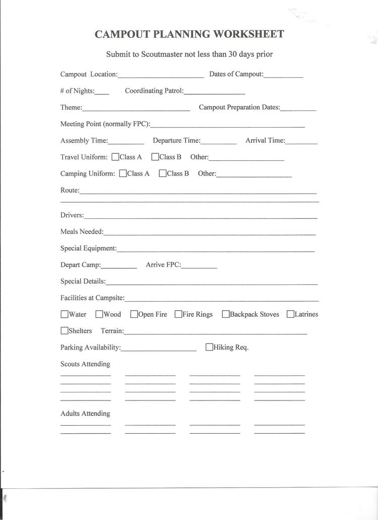 Troop Newsletter Troop 1 Austin – Webelos Citizen Worksheet