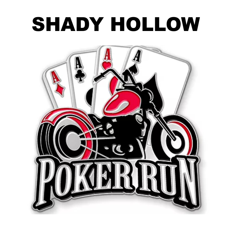 POKER RUN (2019)   Summer, 2018 (Date TBD) Get ready for our annual Poker Run this summer.  Details to follow soon.