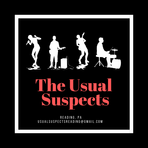 - And enjoy the lively music by The Usual Suspects!
