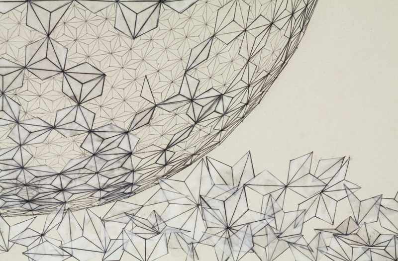 Broken Geodesic (detail)
