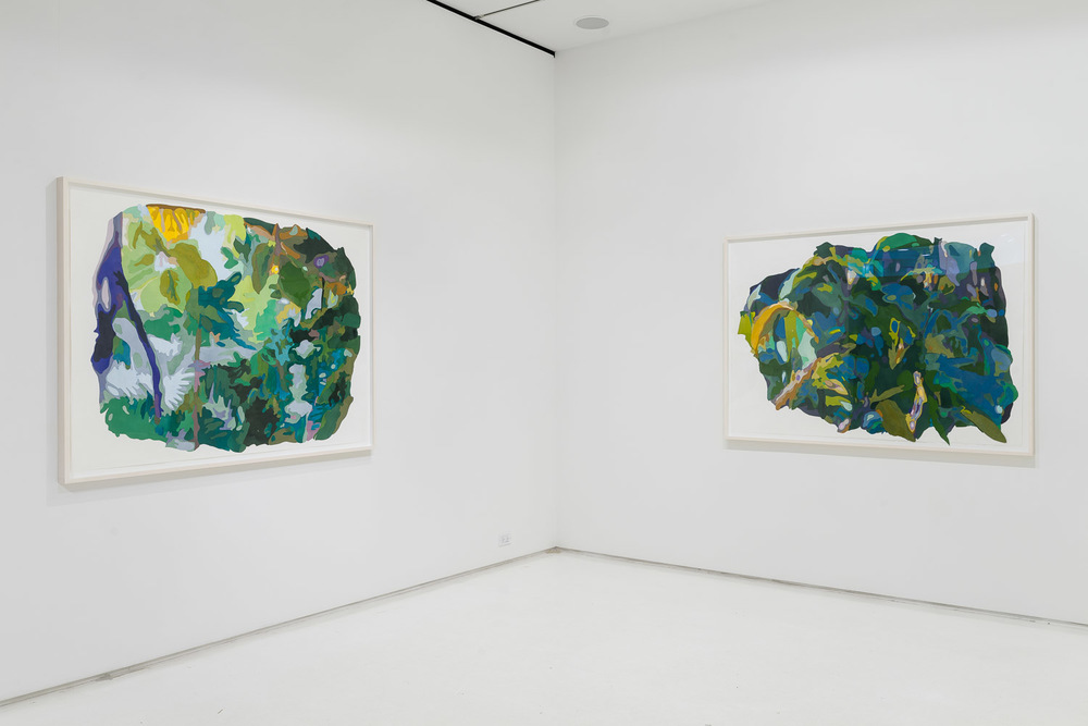 Paradise Constructed  at Mixed Greens installation view, 9/10-10/10/2015