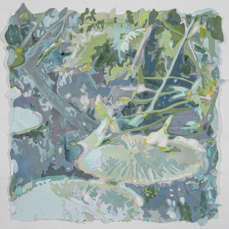 Water Lilies (After Monet), 2016