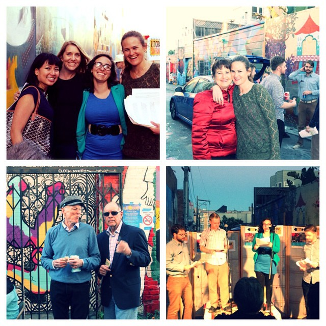 Collaborated with a wonderful group of writers, actors and curators with Play On Words, our burgeoning literary movement. Here are some shots of us at our Lit Crawl premiere in October 2014. Learn more at playonwordssj.wordpress.com.