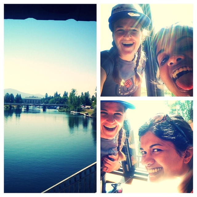 Visited my dear friend Dumi in Spokane and learned to paddleboard. Verdict: #fuckingawesome.