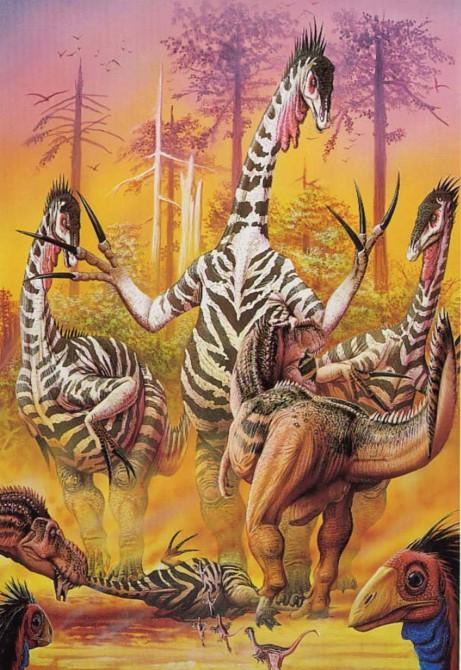 Dinosaur-Weirdest-Strangest-Coolest-Therizinosaurus-Artist-Impression-461x670.jpg