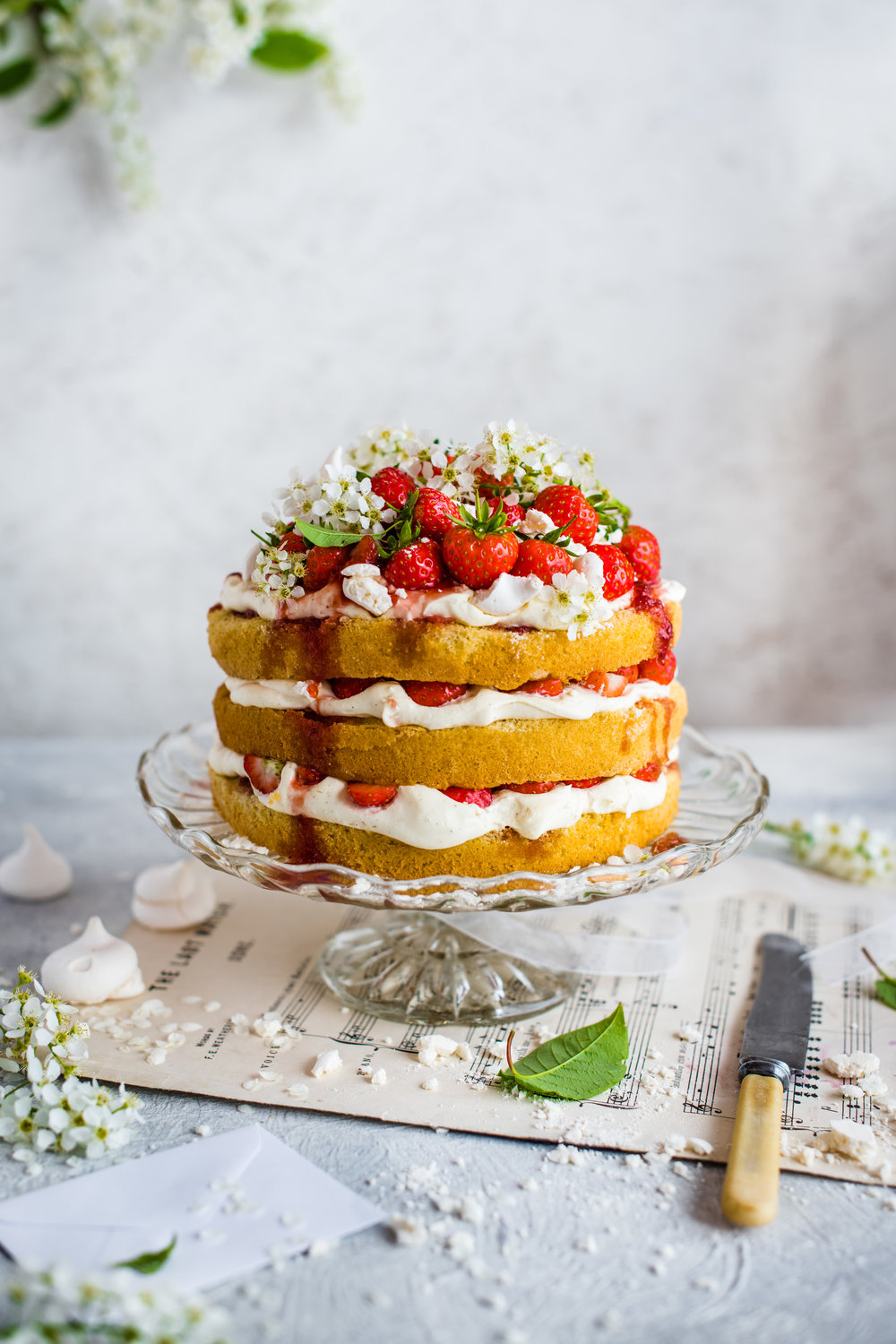The Winner - Strawberry cake by Magdalena Hendy.What I liked; Lighting, composition, food arrangement and a sense of a special occasion. The props conjur up story of intimacy without being to obvious.Nicky Collings liked;