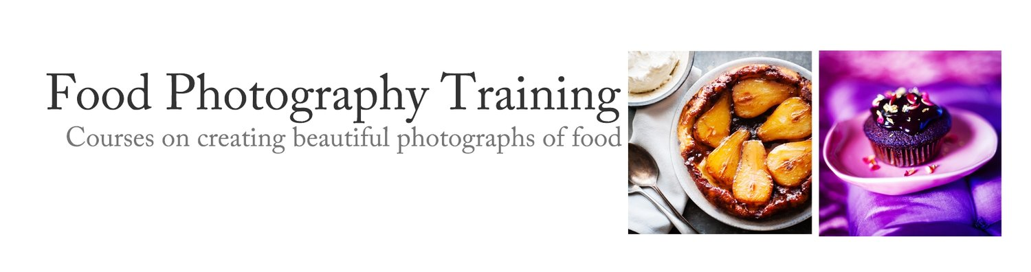 The original food photography course, teaching, classes and one to one on photographing food