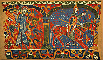 Baldisholteppet. Foto: Frode Inge Helland / Wikipedia