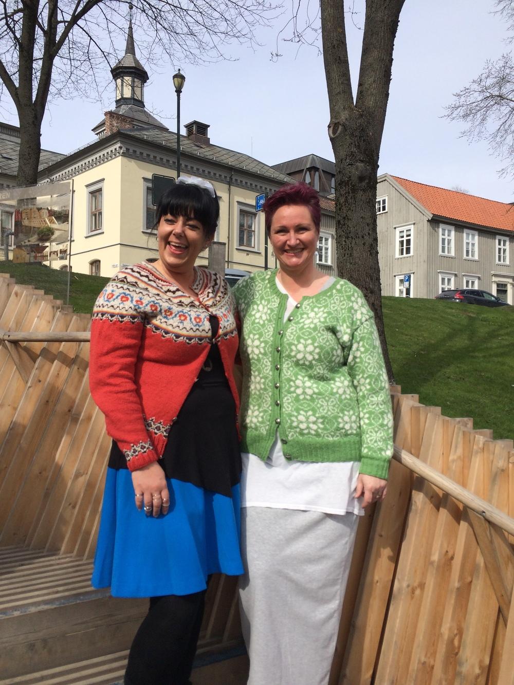 Tone Loeng og Vanja Blix Langsrud