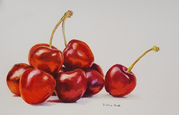 """""""Cherry Cherries"""" by Debbie Hook"""