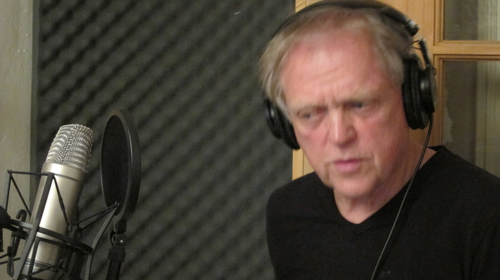 "Jim Fouratt, as the evil Art School Professor in episode 4, redid his lines in 2011 by dubbing them.  We'd originally 'borrowed' ""Nine by Nine"" by John Dummer's Famous Music Band  for the soundtrack of this episode but the song was married to the mixed track and put us in jeopardy of a lawsuit ."