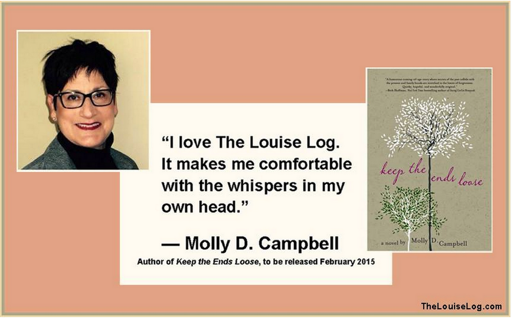 Find out more about Molly:   mollydcampbell.com   on  twitter
