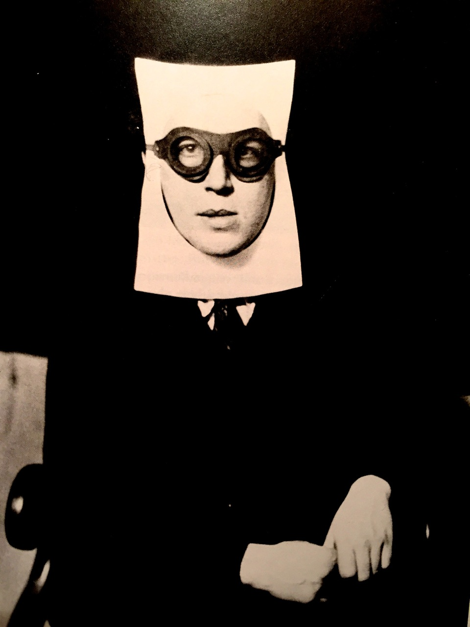 André Breton photographed by Man Ray