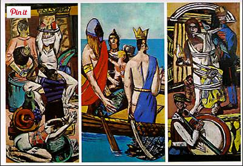 The Departure by Max Beckmann