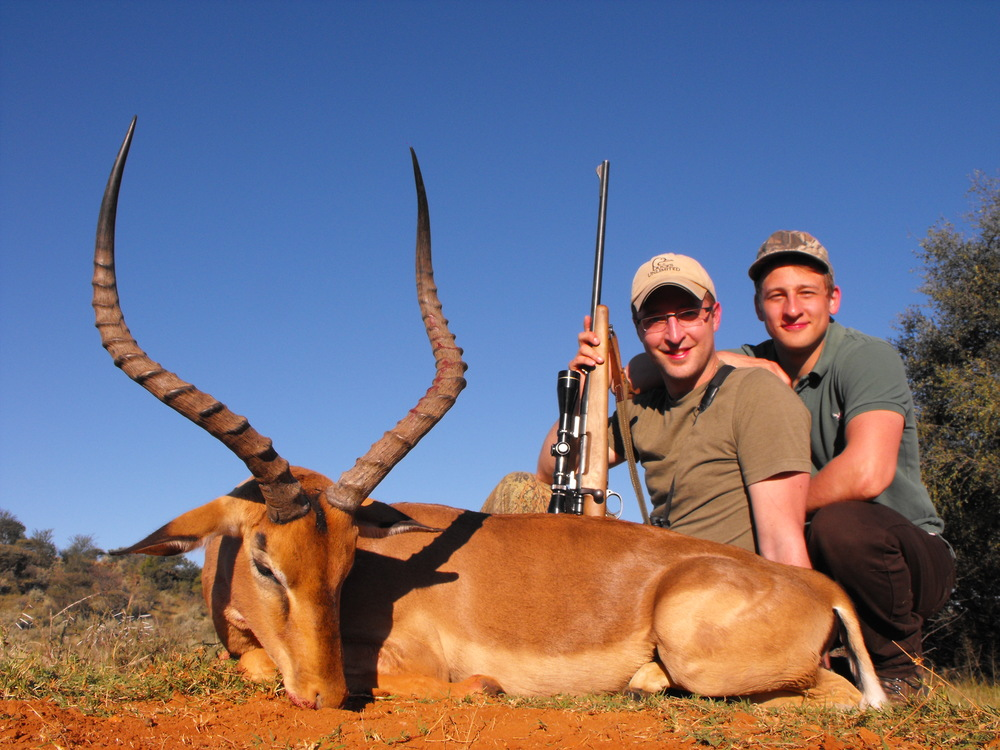 Adrian Skok with another exceptional Impala