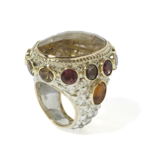 amadeo ii ring. pietra dura. couturelab