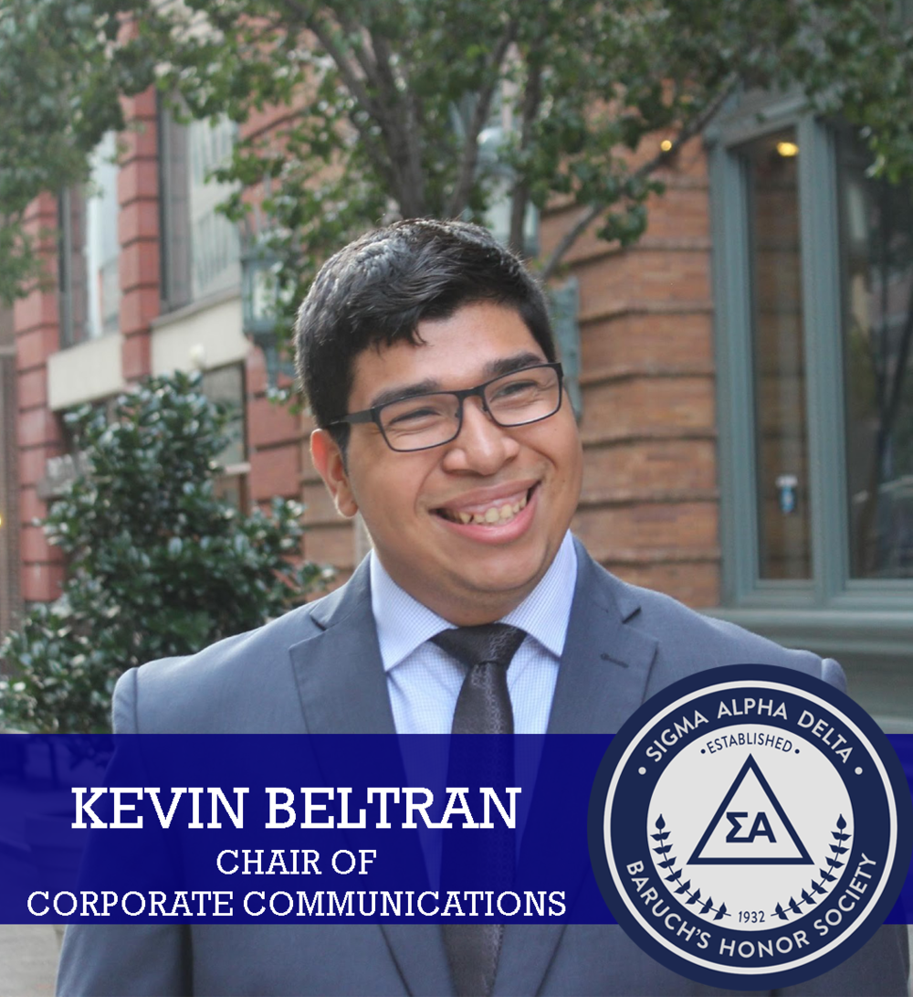 Kevin Beltran  - Chair of Corporate Comm.