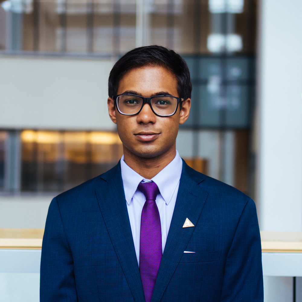 Nikhil Noronha - Chair of Corporate Communication