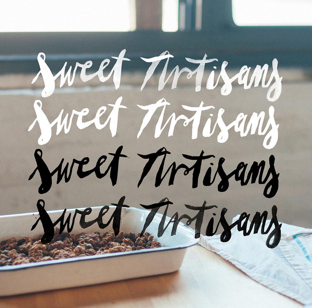 sweet artisans lettering overlay
