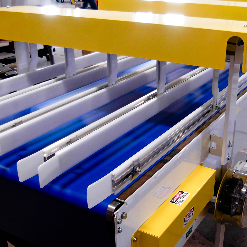 Fabric Belt Conveyor Product Handling Concepts